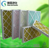 Disposable Synthetic Fiber Paper Frame Pre Air Filter