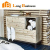 Rustic Country Style Bedroom Oak Sideboard Furniture (LB-AL5067)