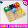 2015 Cheap Wooden Toy Building Block Toy for Kids, Colorful Wooden Block Toy Wholesale, Building Block Brain Training Toys W13e045