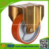Rigid Red PU Wheel Industry Caster