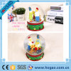 OEM Resin Water Snow Globe Family Inside