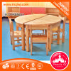 Popular Wooden School Furniture Kids Circular Table for Sale