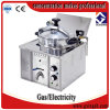 Mdxz-16 Used Propane Electric Table Top Pressure Deep Fryer
