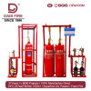 Automatic Fire Fighting Equipment FM200 70L90L120L Hfc227ea Fire Extinguishing System