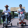 Fashionable Three Wheel Electric Scooter for Disabled People