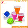 Silicone Easy to Carry Folding 200ml Cups, FDA Silicone Folding Cup, Outdoor Sports Silicone Water Cups (XY-SC-172)