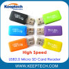 Factory Direct High Speed USB2.0 Micro SD Card Reader TF Card Reader