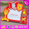 2015 Colorful Kid Wooden Picture Frame, Cheap Wholesale Wooden Picture Frame, Wooden Wall Hanging Decorative Picture Frame W09A039