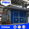 Puhua Shot Peening Booth for Large Parts Cleaning /Sand Blasting Machine