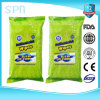 2016 Hot Sale Antibacterial Tissue Lady Wet Flushable Wipes