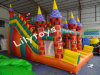 Inflatable Castle Mode Slide for Kids
