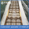 Laser Cut Decorative Stainless Steel Screen Room Divider for Hall/Lobby