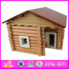 2014 New Kids Wooden Toy House, Lovely Design Children Wooden Toy House and Hot Selling Baby Wooden Toy House W06A075