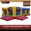 Kids Popular Rainbow Island Inflatable Bounce with Certificate (C1281-8)
