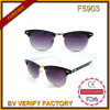 F5903 Metal and Plastic Mixed Frame Sunglasses