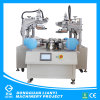 Flatbed Two Color Balloon Screen Printer with Rotary Table