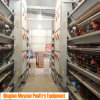 4-Layer Chicken Hen Rearing Coop of Poultry Egg Farm Equipment