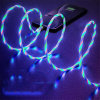 Best Seller Visible Flowing Light 3 in 1 USB Magnetic Phone Charging Cable