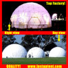 Clear Transparent White PVC Outside Geodesic Dome Tent Fastup