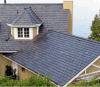 Natural Stone Roof Covering Tiles Black Slate Roof Coating Tiles