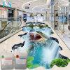 Amazing Resin Custom 3D Gloss Liquid Water Clear Epoxy Paint Floor for PVC Logo Design