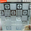 Acid Etched Tempered Anti Slipping Glass for Stair