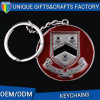 High Quality Metal Round Shape Keychain