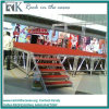 Rk Wholesale Portable Aluminum Stage with Red Platform for DJ Stage