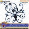 Wrought Iron Rosettes Forged Panels