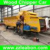 Wood Chippers Making Machine Smash Log Truck