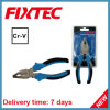 Fixtec Hand Tool CRV Combination Plier with TPR Handle
