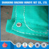 PE Knitted Construction Plastic Green Scaffold Safety Net