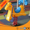 Children Outdoor Playground Plastic Spring Rider for Sale