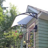 Wind Resistant Outdoor Canopy Roof for Door Polycarbonate Awning