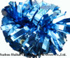 Cheerleading Metallic Columbia Blue POM POM