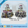 Resin Skull 65mm Pirate Water Snow Globe