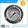 63mm Glycerine Filled Pressure Gauge with Flange Brass Connection