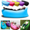 Outdoor Convenient Inflatable Lounger Polyester Fibre Sleeping Compression Air Bag Hangout Bean Bag Portable Dream Chair for Beach, Travelling, Fishing