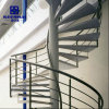Customized Modern Design Interior Residential Metal Spiral Staircase
