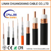 Outdoor Coaixal Cable Overhead RG6/Rg11 with Messenger Communication Cable