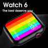 Watch6 W26 Bluetooth Call Smart Watch Color Touch Screen Sports Watch ECG Heart Rate Monitor Compatible with Android Ios