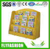 Wooden Book Display Shelf Kids Bookcase Bookshelf for Sale (SF-98C)