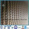 6*19 Structured Ungalvanized Steel Wire Rope for Lifting