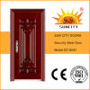 Sc-S091 Good Design Entrance Security Steel Metal Doors