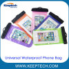 Universal Sealed Waterproof Phone Pouch Bag Phone Case for Cellphone 5.8 Inch or Below
