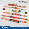 All Type 100% Polyester Webbing Ratchet Tie Down Ratchet Straps Cargo Lashing Belts Endless