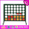 Top Fashion Outdoor Brain Training Game Wooden Connect 4 Game W01A203