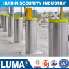 Outdoor Safety Parking System Retractable Automatic Stainless Steel Barrier Bollard