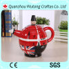 Custom Crafts London Solider Design Souvenir Gifts Resin Teapot Decoration