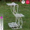 Metal 3-Tier Plant Stand Outdoor Decoration